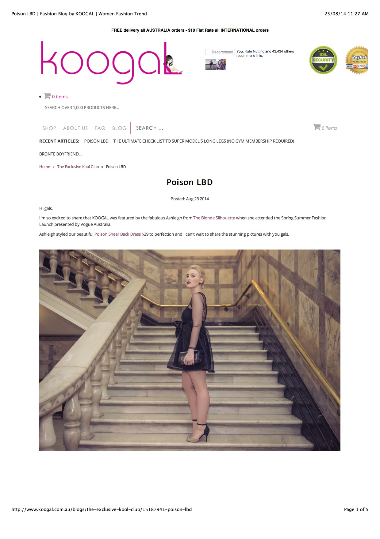 Poison LBD | Fashion Blog by KOOGAL | Women Fashion Trend copy