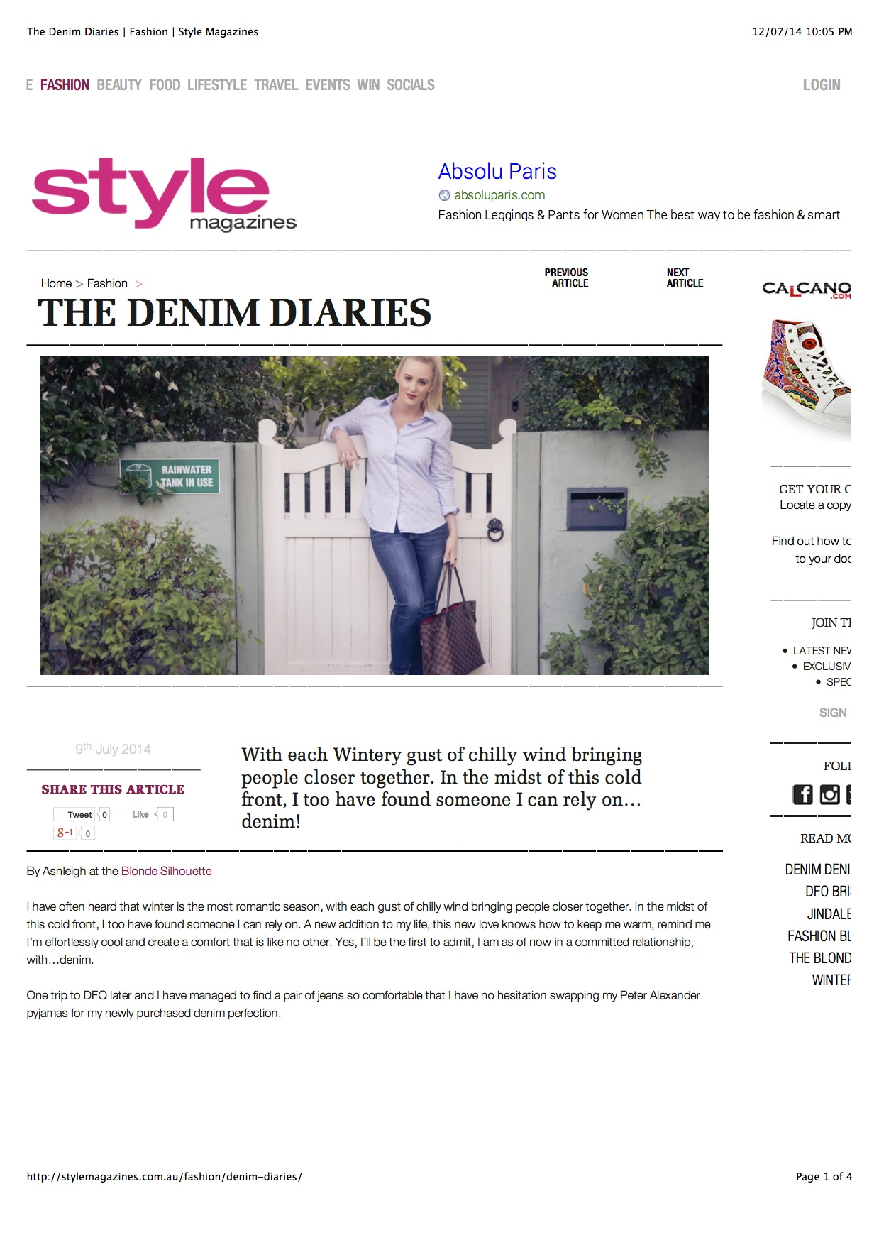 The Denim Diaries | Fashion | Style Magazines copy