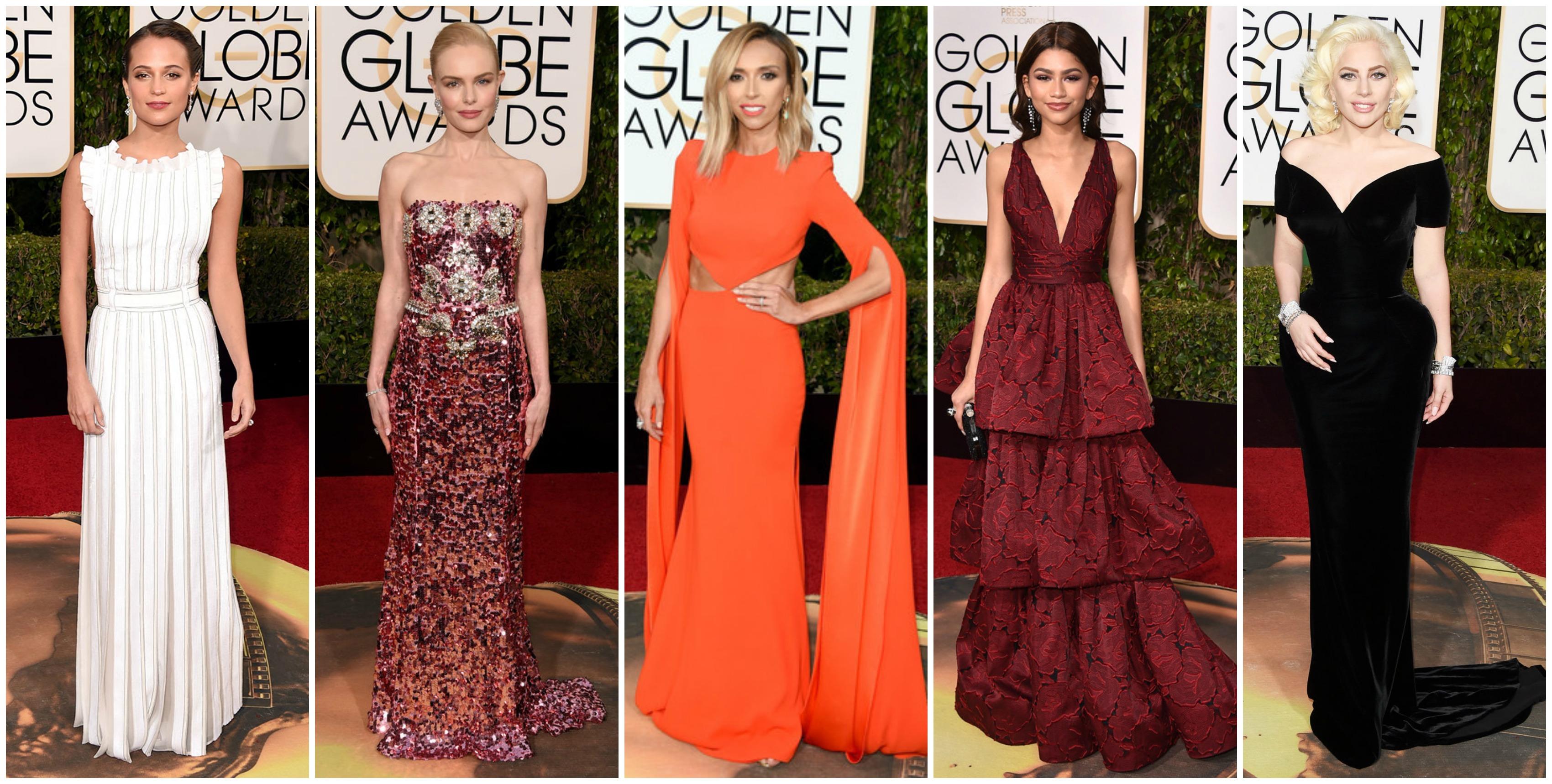 "<alt=""Golden Globes Fashion 2016"""